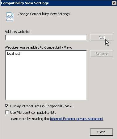 CompatibilitySites